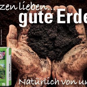 Pflanzen lieben gute Erde